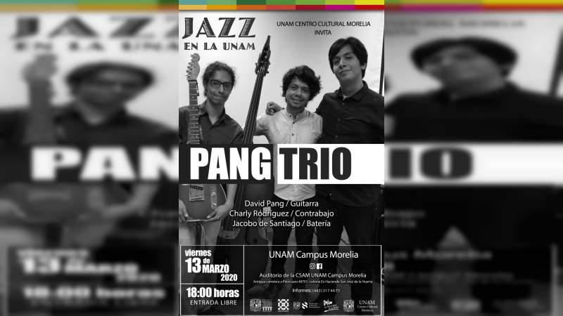 Pang Trío se presenta este viernes en el ciclo Jazz en la UNAM