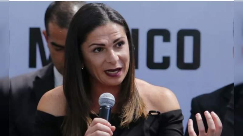 Me vale madre lo que digan de mi: Ana Guevara