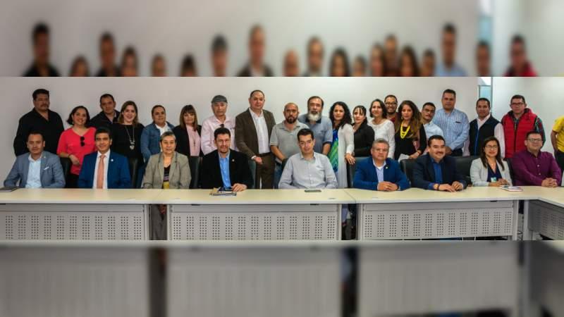 Universidad Michoacana integra comisiones mixtas junto al STUMICH