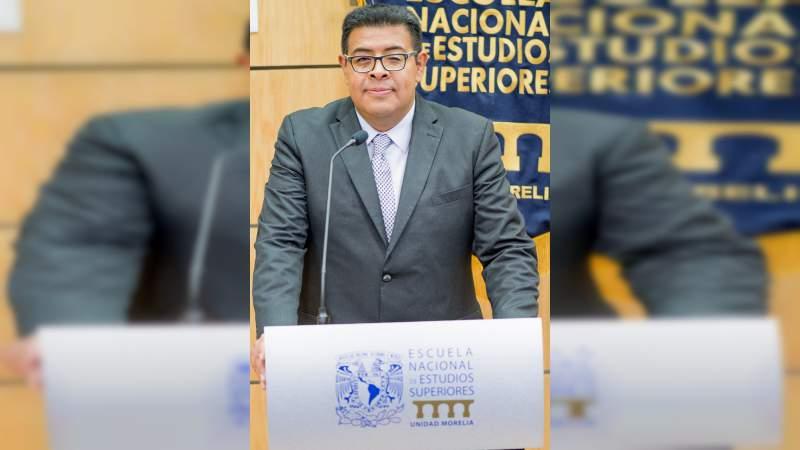 Relevo en la dirección de la ENES Morelia