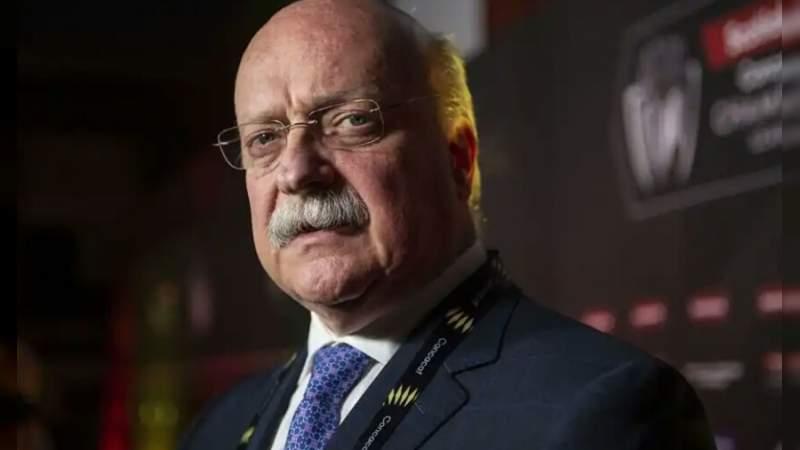 Presidente de la Liga MX da positivo por coronavirus