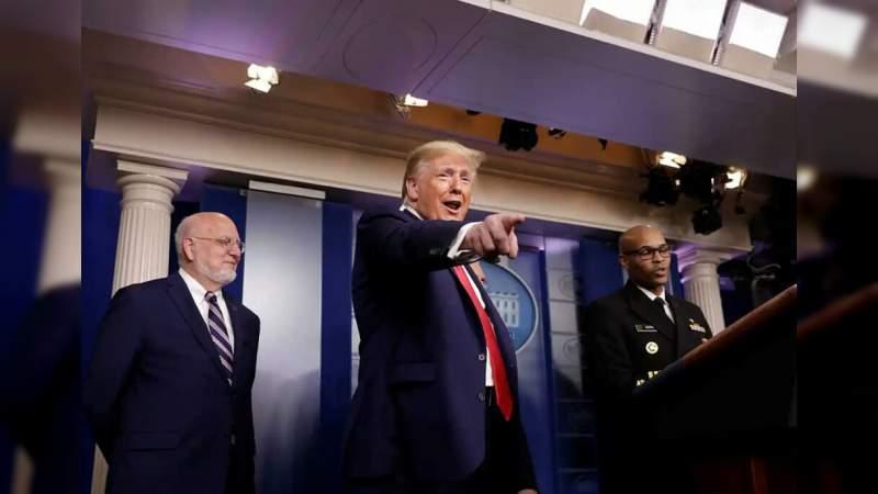 Estoy enojado con China por el coronavirus: Trump