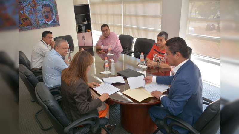 UMSNH y delegación del IMSS Michoacán delinean acciones contra el COVID-19