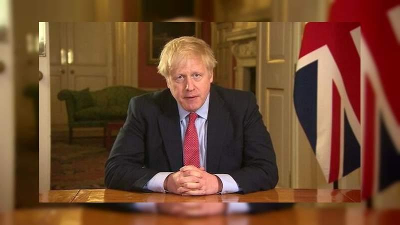 Boris Johnson, primer ministro de Reino Unido, tiene coronavirus