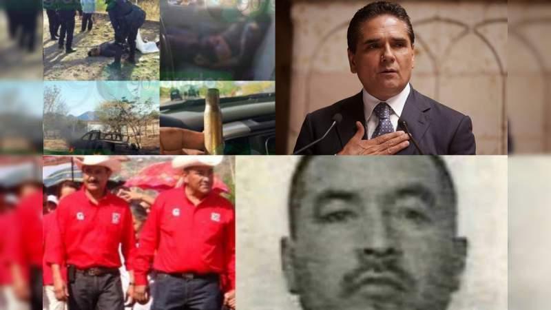 Cumplen 11 semanas desaparecidos cuatro policías de Churumuco: Alcalde vinculado con el narco; gobierno guarda silencio