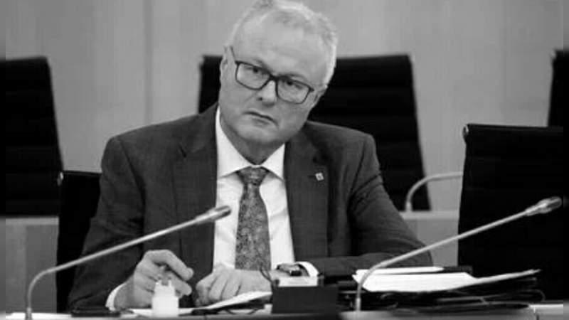 Por coronavirus, se suicida ministro de Finanzas en Alemania