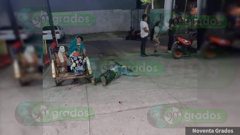 Ejecutan a un abuelo de aproximadamente 70 años en Uruapan, Michoacán