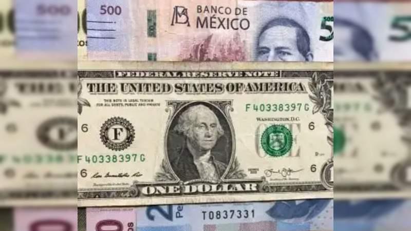 Este domingo el dólar se cotiza en 25.01 pesos