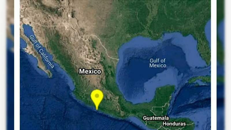 Se registra sismo de 5.2 en Petatlán, Guerrero