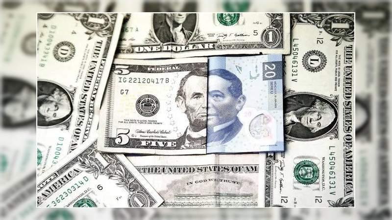 Dólar cae 74 centavos el peso gana terreno se vende en 24.32 en bancos