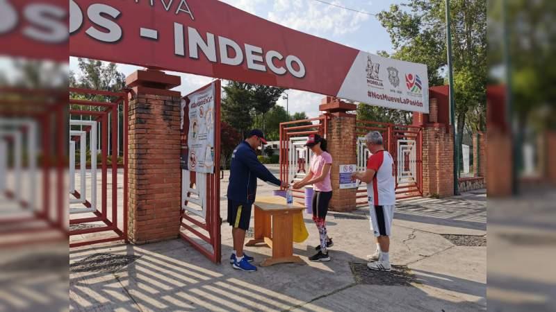 Por contingencia, Gobierno de Morelia reduce operación de espacios deportivos