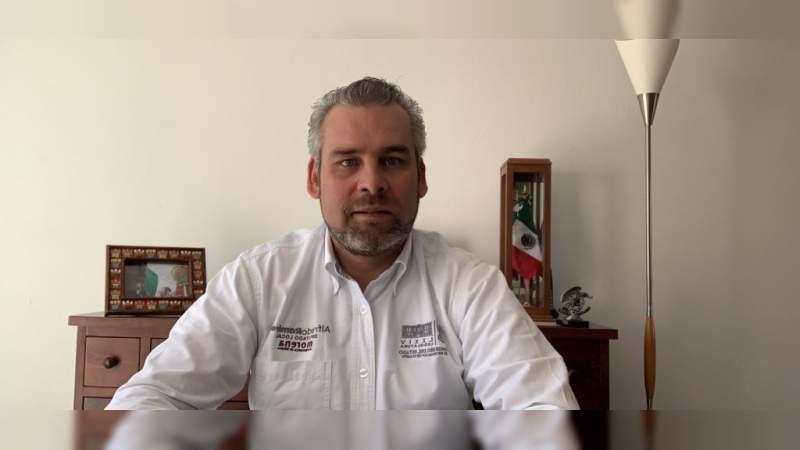 Programa de AMLO busca reactivar la economía sin empeñar el futuro: Alfredo Ramírez