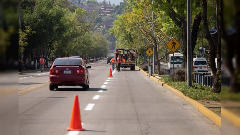 Empresa gasera incumple con la colocación de ducto; la obra de la lateral norte de la avenida Madero tendrá que posponerse