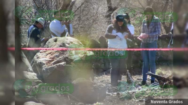 Encuentran un cadáver calcinado en Jacona