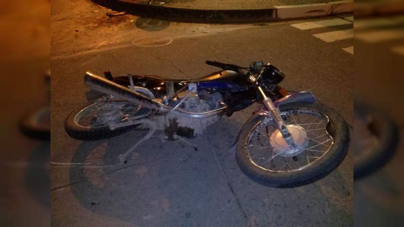 Muere adolescente de 17 años en choque de motos en Zamora; el otro conductor, herido