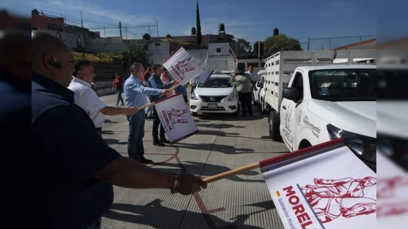 Da Raúl Morón banderazo a entrega de 35 mil despensas a familias de zonas vulnerables