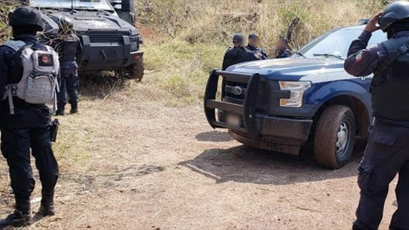 Se registra enfrentamiento entre policías y criminales en Tlazazalca