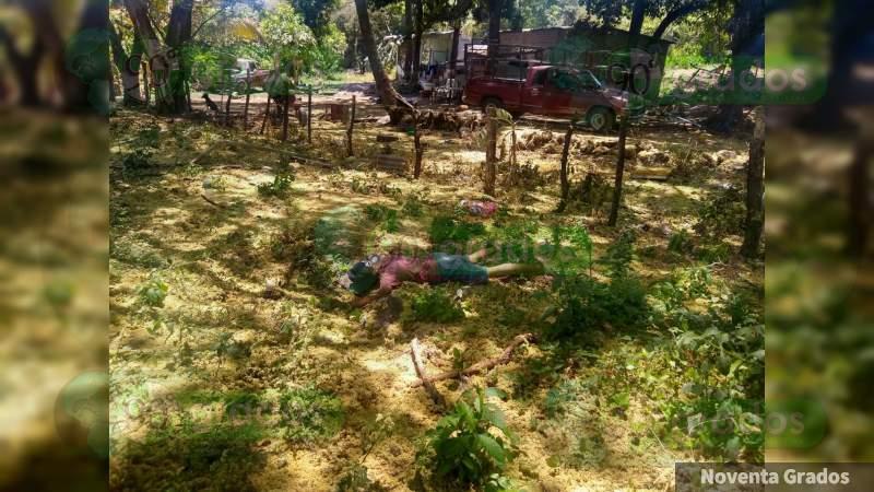 2 hombres y una mujer resultaron muertos en enfrentamiento en Lombardía, Michoacán