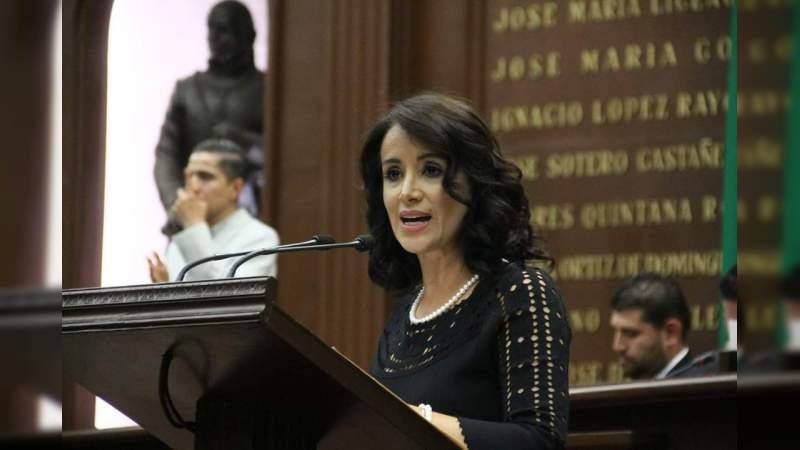 Gobierno Federal debe garantizar atención a mujeres en contingencia: Lucila Martíne