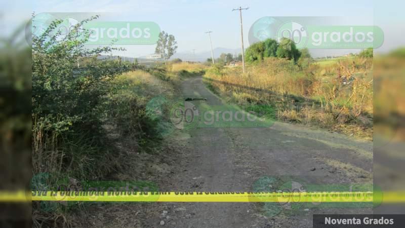 Encuentran cadáver maniatado de una mujer en Zamora