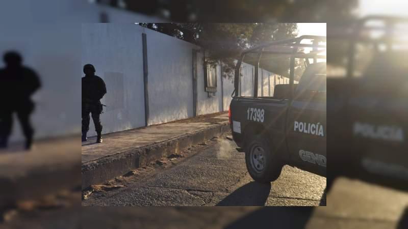 Detienen a integrantes del Cártel Santa Rosa de Lima con un gran arsenal