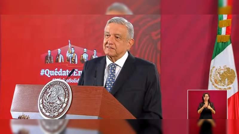 Regreso a clases podría darse el 17 de mayo: López Obrador