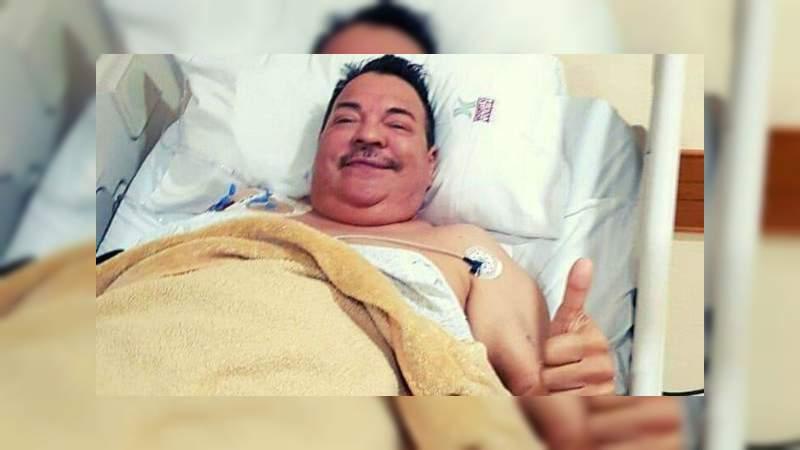 Les aviso que solo tengo principio de neumonía, La prueba del covid-19 salió negativa: Julio Preciado