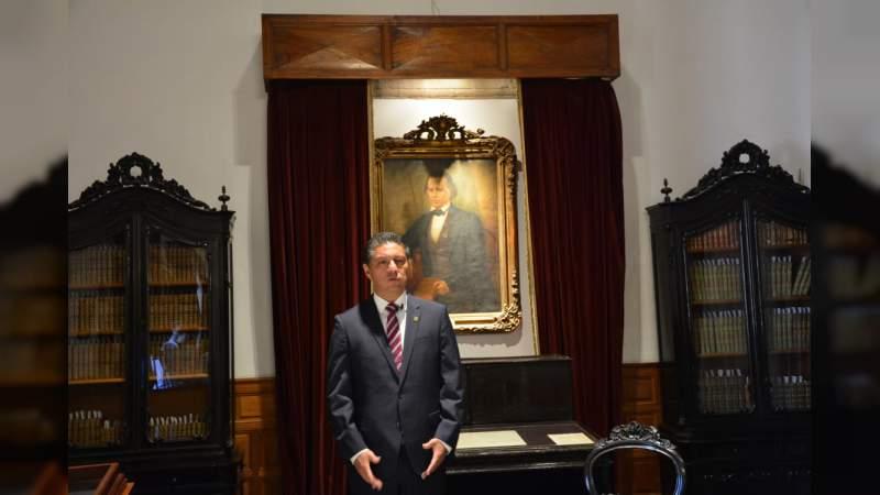 Destaca rector Raúl Cárdenas trabajo de planta académica de la UMSNH