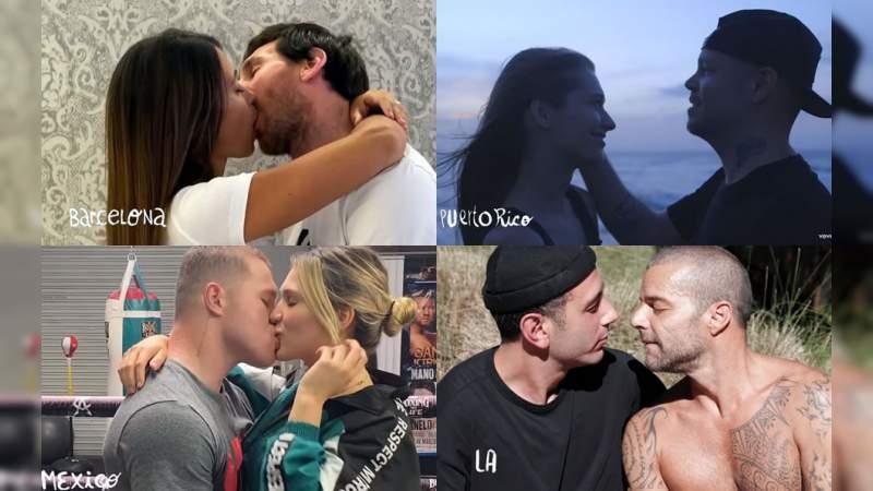 Nueva canción de Residente nos muestra muchas parejas besándose