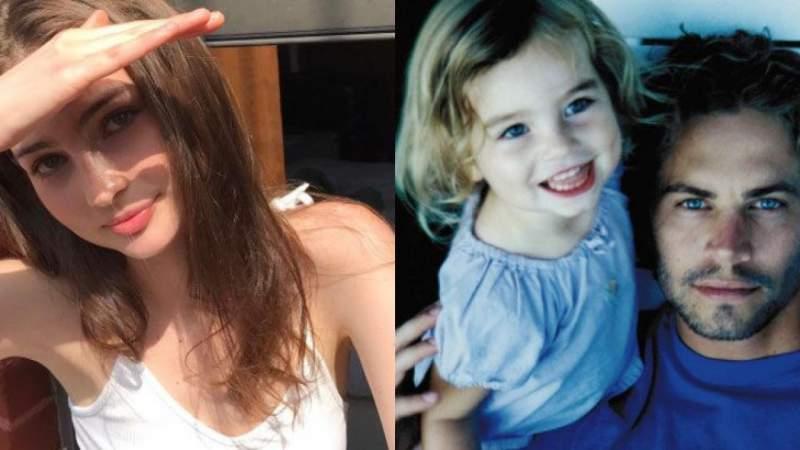 Hija de Paul Walker, comparte foto recordando los 7 años que lleva su padre fallecido