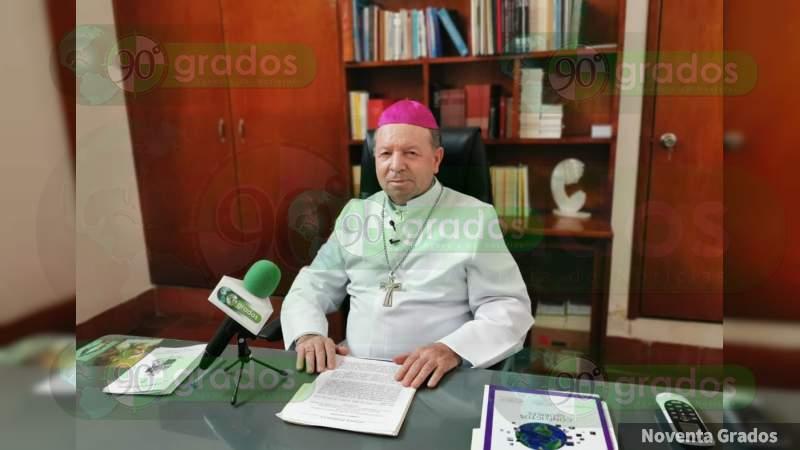 En Apatzingán reina el temor por inseguridad y extorsiones: Obispo Cristóbal Ascencio