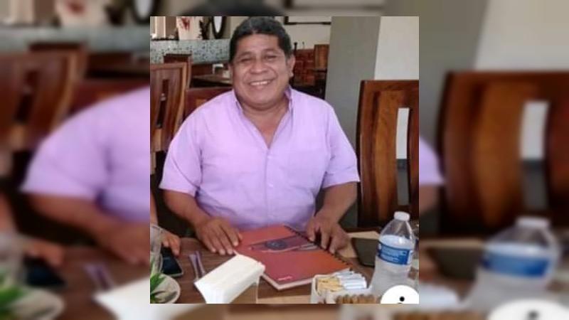 Fallece por COVID-19 líder de la CNTE de Lázaro Cárdenas