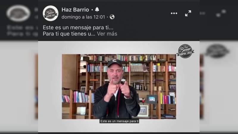 Reconoce Gobierno de Morelia voluntad de influencers para sumarse a campaña de Haz Barrio