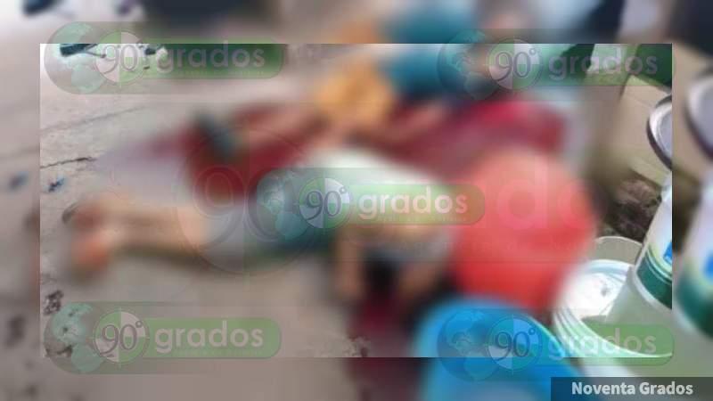 Asesinan a cinco personas y una más resulta herida, en Puruándiro