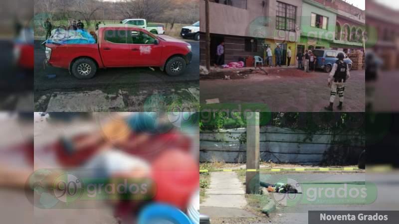 """El viernes Silvano Aureoles aseguraba """"combatir con firmeza la delincuencia"""": Asesinan a 23 personas desde entonces"""
