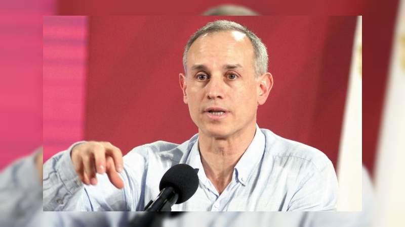 No descartamos rebrote de casos: López Gatell