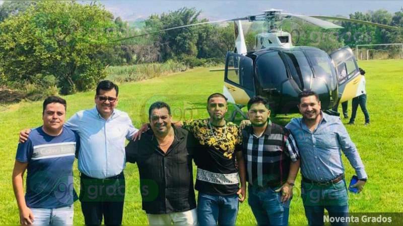 PRD Michoacán, en silencio por fiesta en contingencia y uso de helicópteros por la dirigencia estatal