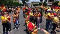 """Colocan mantas de """"Morelia no se va"""" en el Estadio Morelos"""
