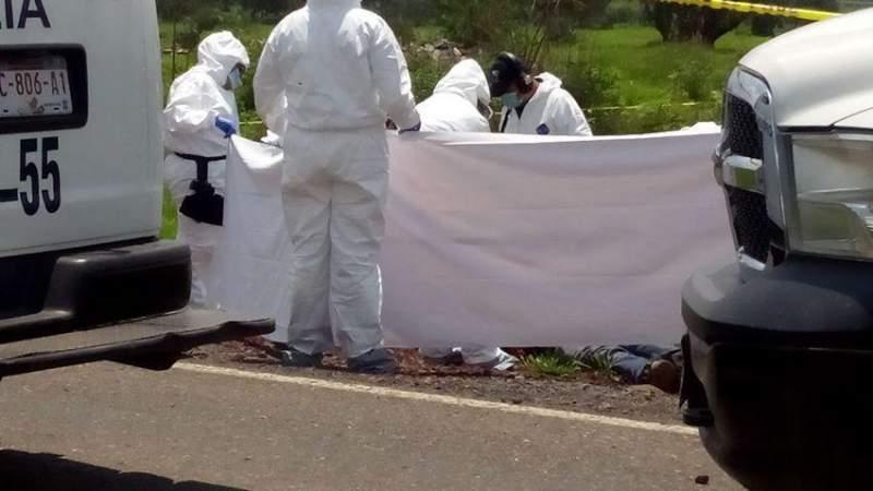 Localizan cadáver en Queréndaro, Michoacán
