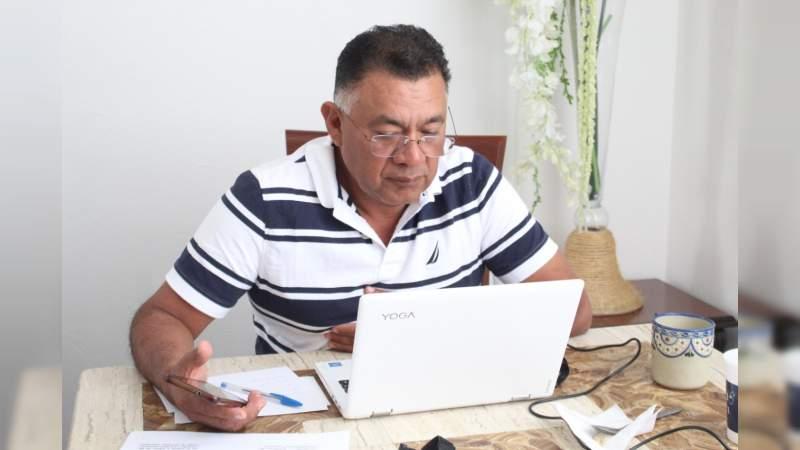 Celebra Comisión Electoral primera sesión virtual; atienden pendientes
