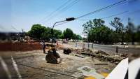 Gobierno de Morelia pide a ciudadanía tomar precauciones ante avance de obra de laterales de la Avenida Madero