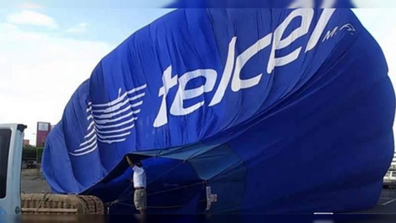 Telcel reporta 95% fallas en la telefonía móvil; 3% por servicio de internet, y el resto por telefonía fija