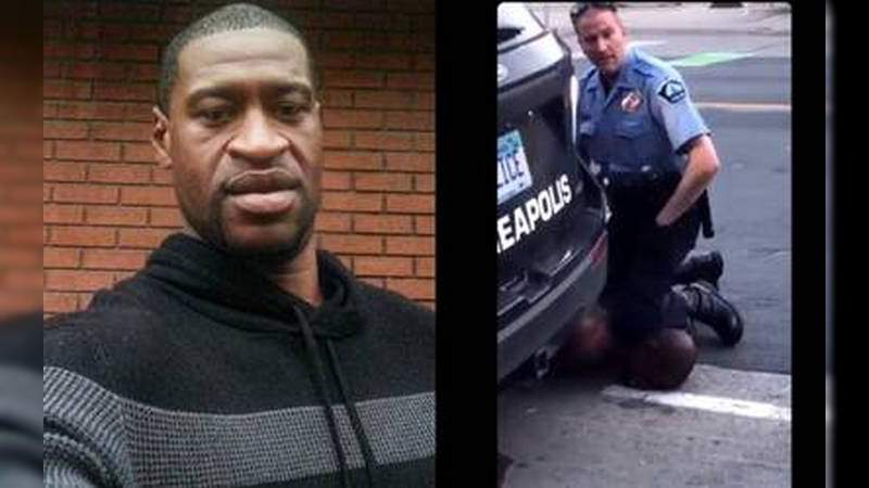 Policía de Minnesota, matara a afroamericano asfixiandolocon la rodilla trasser detenido