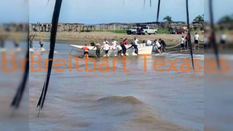 Lanchas con cocaína, descargadas en la costa michoacana a la vista de Marina y Guardia Nacional