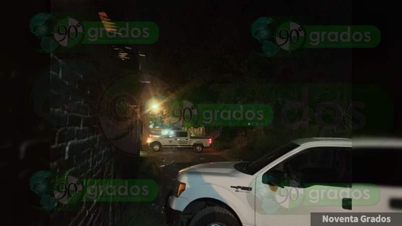 Localizan el cuerpo de un hombre maniatado y con signos de tortura en Uruapan, Michoacán
