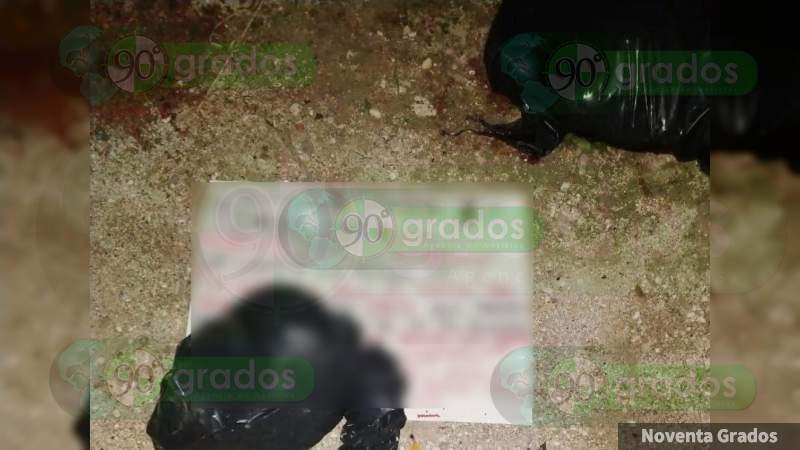 """""""Vendiste la plaza al Cártel el Noreste"""": CJNG deja a mujer descuartizada y mensaje contra Secretario de Seguridad de Quintana Roo"""