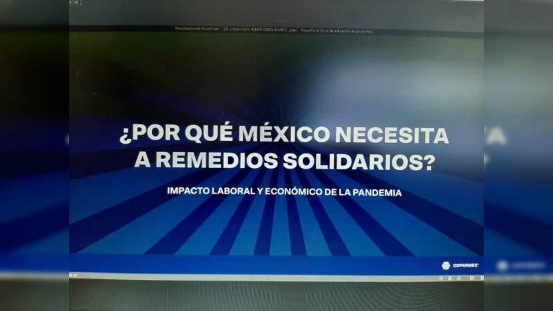 Un nuevo llamado de Coparmex para que gobierno federal se solidarice y apoye a quienes han perdido su trabajo