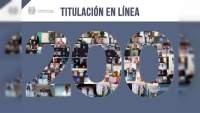 UMSNH registra la titulación en línea número 200