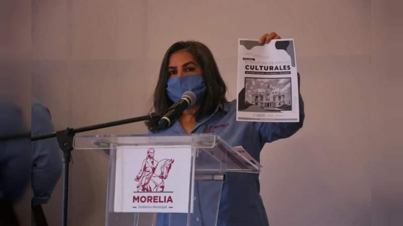 Centros culturales pueden abrir al 25% de su capacidad: SeCultura Morelia