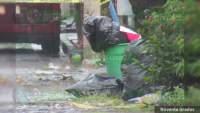 Restos humanos abandonados con narcomensaje en Zamora, eran de una mujer